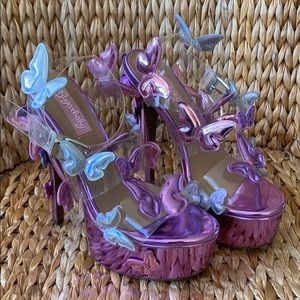 EUC 🦋SugarBaby Butterfly Platforms 🦋6M